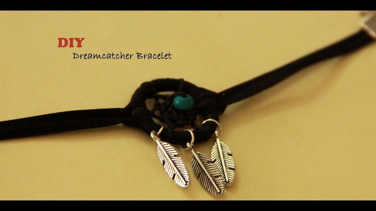 Diy Dreamcatcher Bracelet L How To Make A