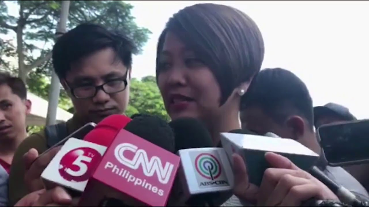 Sen. Nancy Binay files COC for Senator for the May 2019 Elections