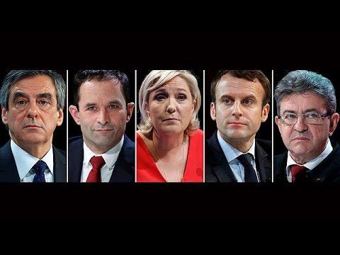 Francia: Le Pen y Macron quedarían codo a codo en la primera vuelta con un 25% de las…