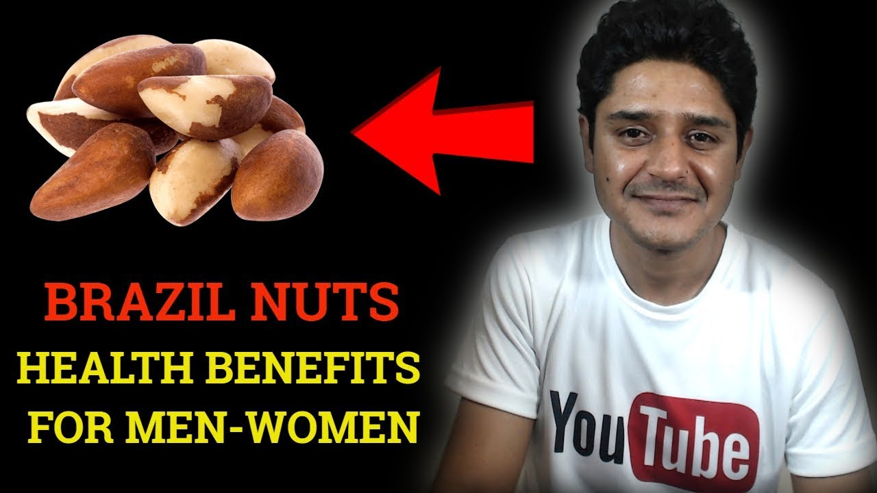 Brazil nuts health benefits rich in selenium-zinc best for thyroid & testosterone level in mens