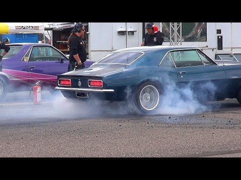 MUSCLE CAR Drag Racing Gone WILD!! - Malmi Street Drags #2 2019