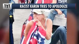 "Racist Karen Backpedals, ""I Blacked Out and Didn't Know What I Was Saying"""