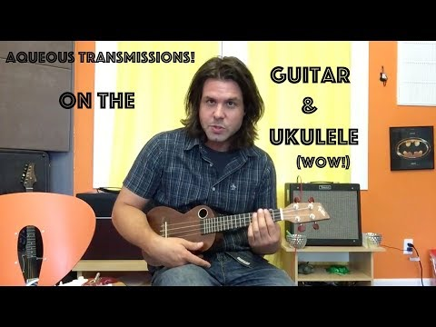 Guitar AND Ukulele Lesson: How To Play Aqueous Transmission  Incubus