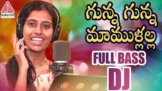 GUNNA GUNNA New DJ Folk Song | 2019 Telugu Folk DJ Songs | Telangana Folk Songs | Amulya DJ Songs