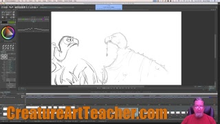 Live Animation - Vulture's Continued