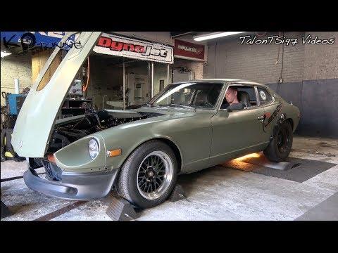 LQ4 Swapped Datsun 280Z On Nitrous | K P  Tuning Dyno |