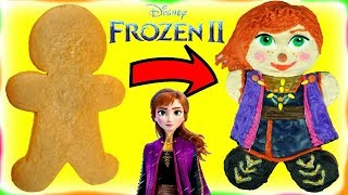 Disney Frozen 2 Anna Gingerbread Man Cookie Decoration DIY