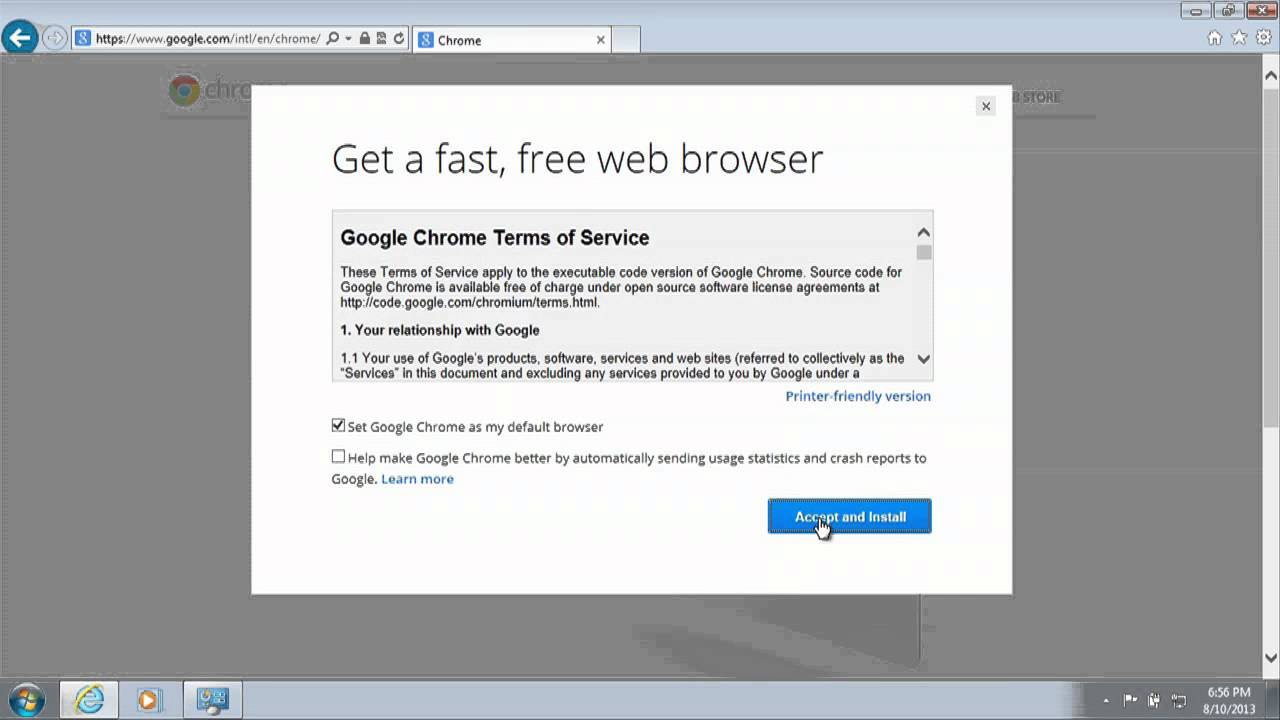 Google chrome free Download Overview