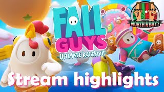Fall Guys Stream Highlights - Warning this is raw and uncensored