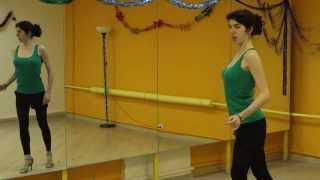 Как делать волну. Уроки женского стиля в сальсе с Рузанной Джагарян.