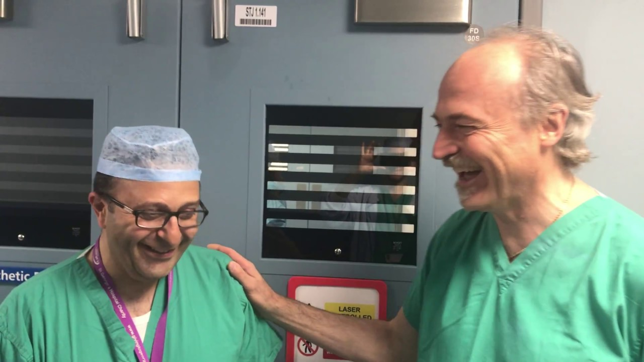 intervento prostata laser video review