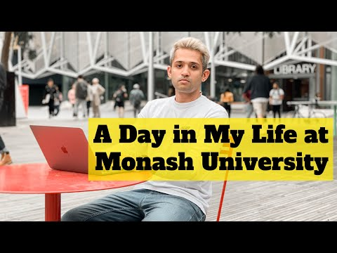 A Day In My Life At Monash University - Master Of Data Science Student