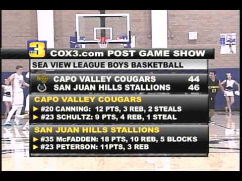 Cox3 Post Game Show - Capo Valley VS San Juan Hills