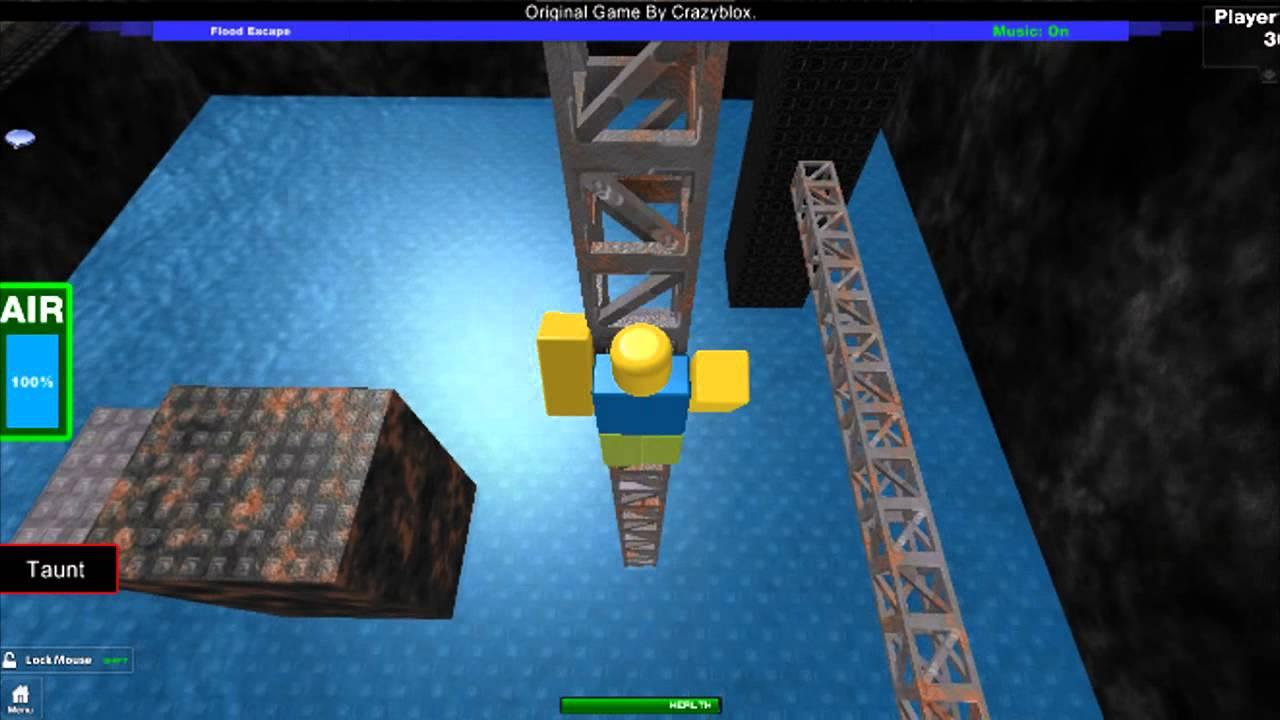 ROBLOX - Flood Escape - Extreme Mode Sneak Peek - YouTube
