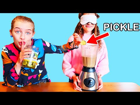 """""""SOCKIE CHEATED & NO ONE KNEW"""" in BLINDFOLD MILKSHAKE Challenge By The Norris Nuts"""