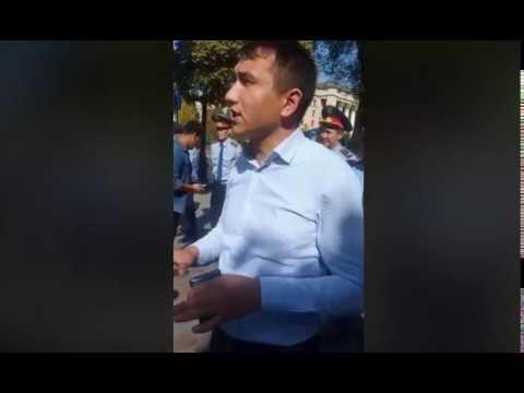 В Казахстане начались задержание протестующих.  Митинги в Алматы, Астана …