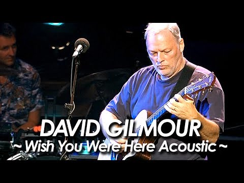 PINK FLOYD:DAVID GILMOUR 『Wish You Were Here (Acoustic Version) 』2002 by miu JAPAN