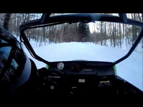 Turbo Dynamics Wildcat Turbo Kit in action (winter ride)