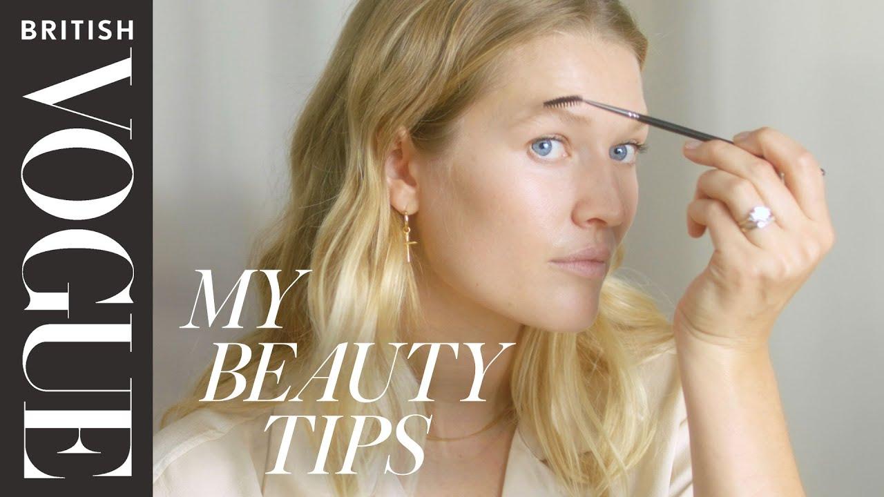 Model Toni Garrn's Wedding Day Makeup Look | My Beauty Tips | British Vogue