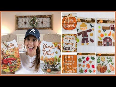 DOLLAR TREE HAUL | AMAZING FALL FARMHOUSE FINDS! (AUGUST 2019)