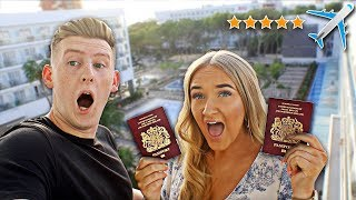 SURPRISING MY GIRLFRIEND WITH HER DREAM HOLIDAY!! *she cried*