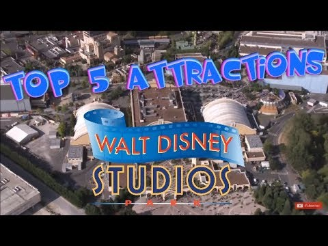 Top 5 attractions Walt Disney Studios Park - Disneyland Paris