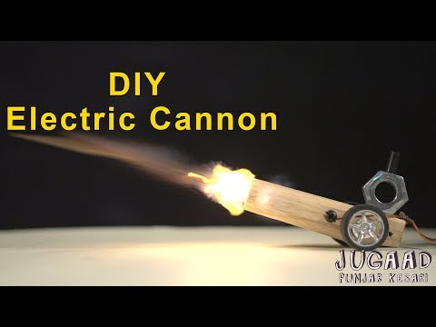 DIY Electric Cannon