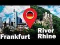 Frankfurt city   River Rhine Cruise   Travel Vlog