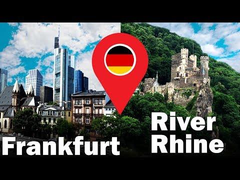 Frankfurt city | River Rhine Cruise | Travel Vlog