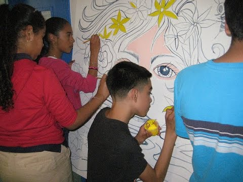 Create A Mural Now Workshop in Pacoima | Create Now