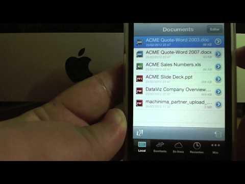 App |Documents to go, abre archivos de office desde tu iOS