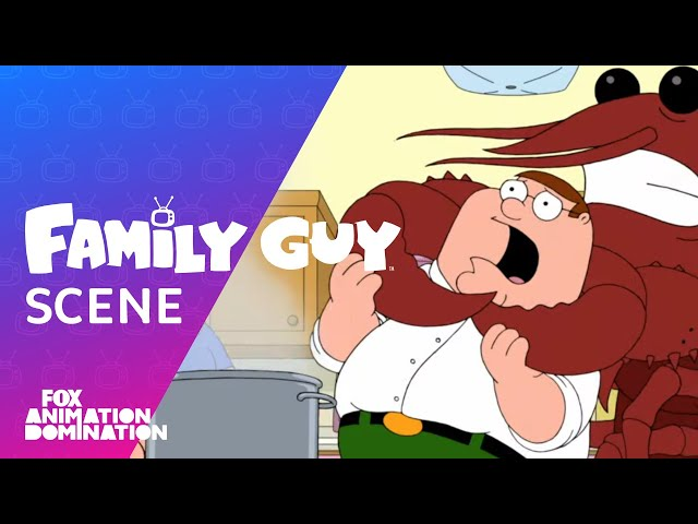 A Lobster Tries To Kill Peter   Season 18 Ep. 12   FAMILY GUY