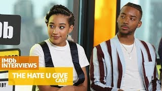 Amandla Stenberg and Cast of 'The Hate U Give' Discuss Emotional & Important Themes | TIFF 2018