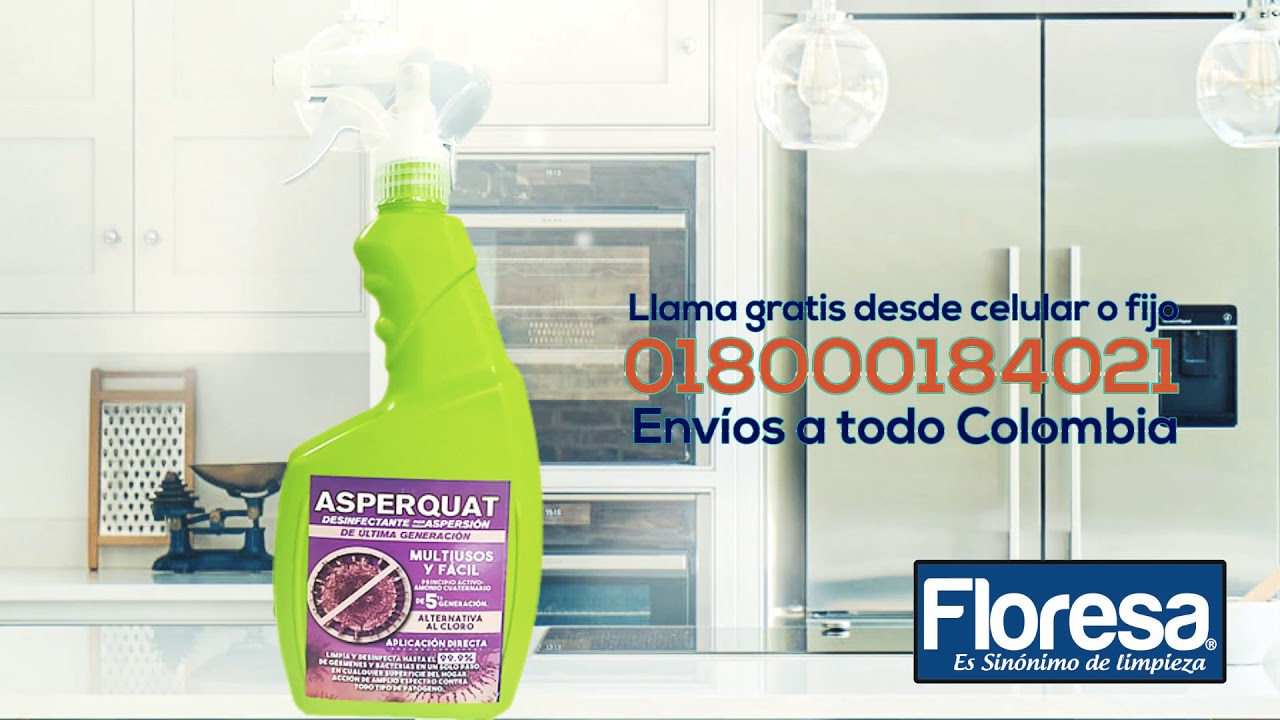 ¡Un producto de desinfección hospitalaria en tu casa!