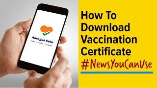 How to download Covid-19 vaccination certificate from Co-WIN, Aarogya Setu app screenshot 5
