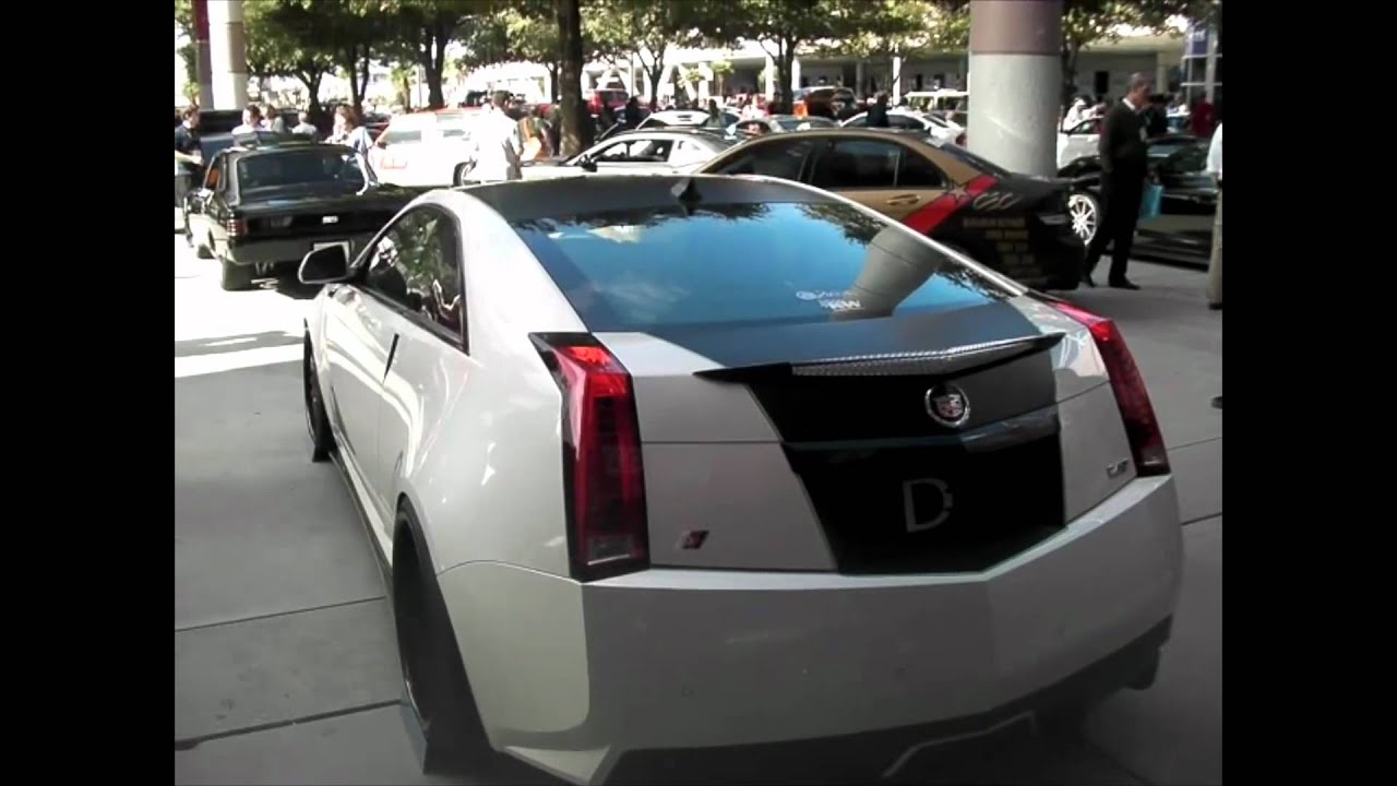DUBSandTIRES.com 2012 Cadillac CTS V Review 22 Inch Black ...