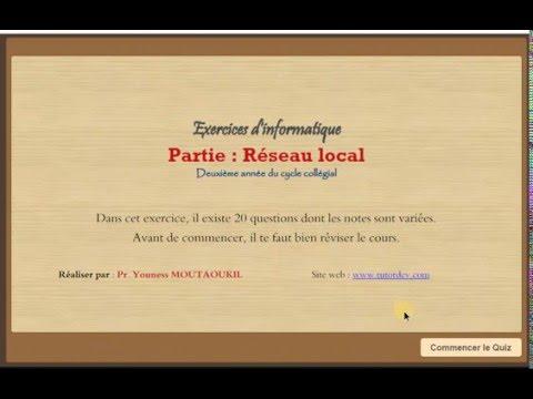 Exercices Réseau local partie 1
