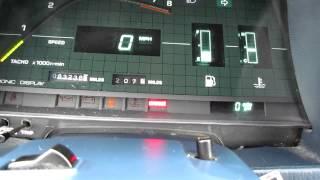 1982 toyota celica supra start up and walk around 5 speed digital dash