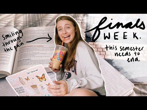 College Finals Week Spring 2020 *ONLINE*