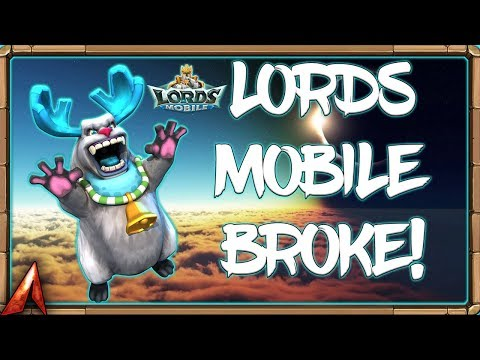 Lords Mobile Broke! Here's Why Theres Maintenance! Lords Mobile