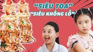 Lam Chi HOẢNG HỒN khi thấy dĩa buffet SIÊU TOA, SIÊU KHỔNG LỒ của Tâm Anh | Gia đình là số 1