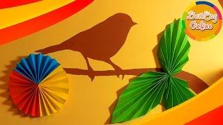 Оригами, цветы и листья из бумаги(В этом видео мы сделаем оригами из цветной бумаги. Яркие цветы и зеленые листочки. Такими вещами можно декор..., 2016-04-14T09:21:58.000Z)