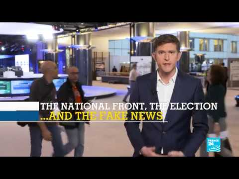Did the National Front use Fake News as a weapon during the French Presidential campaign?