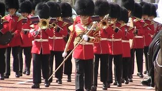 Band of the Grenadier Guards - The Mall - 20 April 2015
