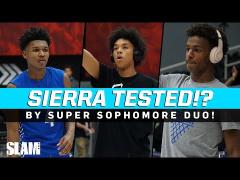 Sierra Canyon TESTED BY SUPER SOPH DUO! League Game Goes DOWN TO THE WIRE 😱 |