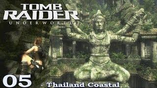 [HD] Tomb Raider Underworld Walkthrough Part 5 - Thailand Coastal - ITA (PS3)