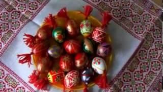 Пасхальные традиции. Роспись яиц. Мастер-класс. 2 часть.