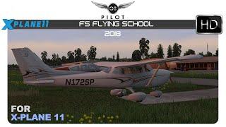 [X-Plane] FSFlyingSchool 2018 for X-Plane 11 | Flight Instructor Add-on
