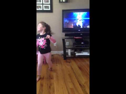 Pitbull Back in Time - Chloe dancing part 2