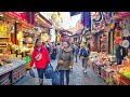 Walking at a crowded shopping Street of old Istanbul | Istanbul Walking Tour 2019
